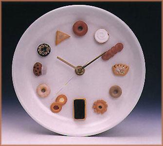 C mo hacer un reloj de pared que simule un plato - Hacer un reloj de pared ...