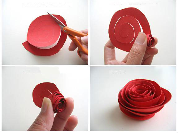 Инструкция как сделать розы
