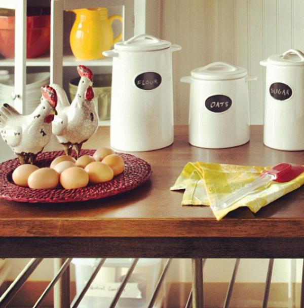 Fantástico Ideas De Cocina Con Gallos Bandera - Ideas de Decoración ...