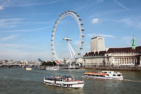Rio Támesis en Londres