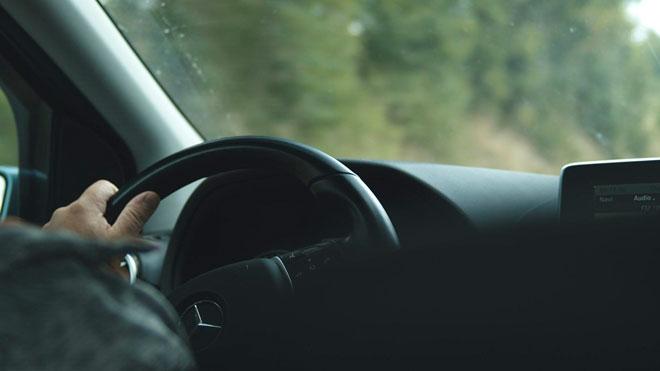 Viaje tranquilo en auto