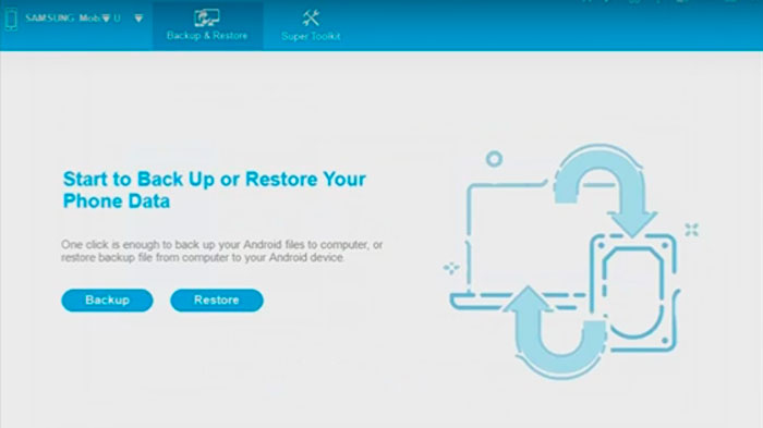 Herramienta Coolmuster Android Backup Manager
