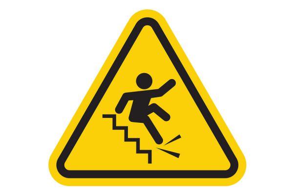 Cómo evitar accidentes en la escalera