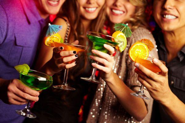 La cantidad de bebida para una fiesta se puede calcular fácilmente con esta guía