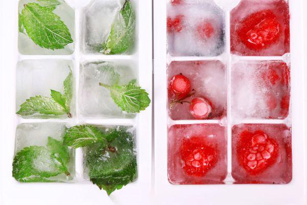 Cómo preparar hielos para decorar