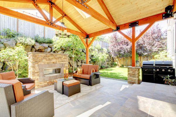 Cómo acondicionar un ambiente al aire libre. Muebles de un ambiente al aire libre.