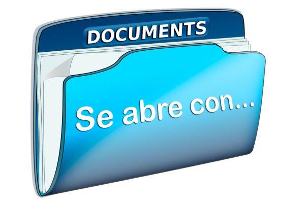 Pasos para asociar archivos para abrirlos con un programa determinado. Cómo asociar archivos a un programa predeterminado.