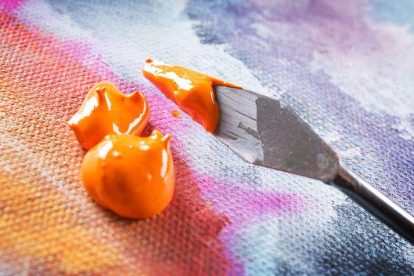 Consejos para pintar con pintura acrílica. Tips para pintar con acrílicos. Cómo trabajar con pintura acrílica.