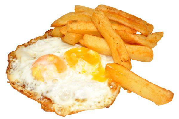 Cómo preparar huevos estrellados