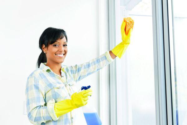 Cómo limpiar los vidrios fácilmente