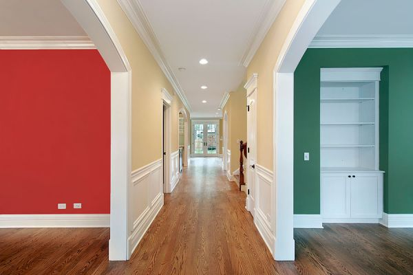 C mo decorar un pasillo - Como pintar un pasillo ...