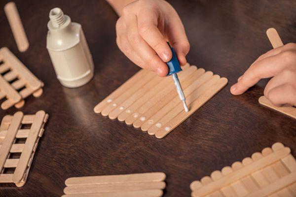 El engrudo casero es ideal para manualidades