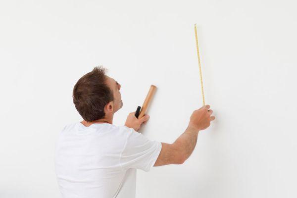 Como descubrir las imperfecciones de una pared
