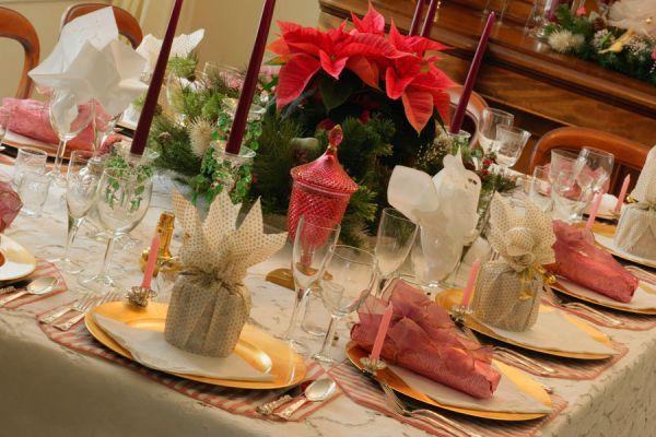 Cómo preparar centros de mesa originales para Navidad