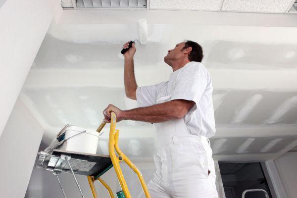 Cómo preparar los techos antes de pintar