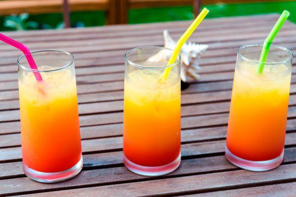 Cómo preparar tequila sunrise