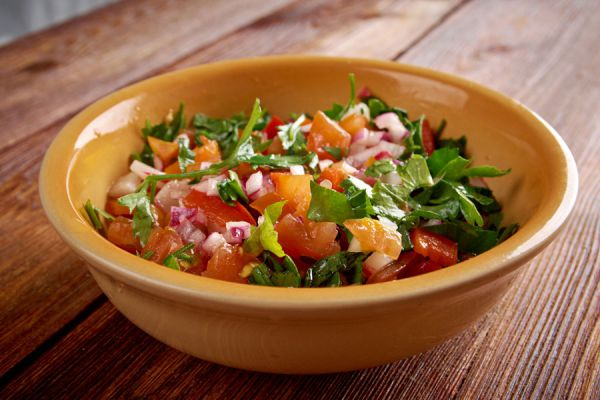 Salsa pico de gallo o mexicana