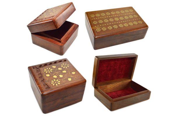 C mo hacer un joyero de madera - Como decorar un joyero de madera ...