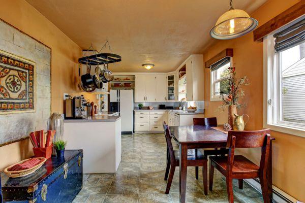 C mo decorar una sala comedor peque a for Como decorar un living comedor pequeno rectangular