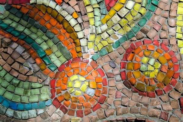 C mo crear mosaicos y s mil venecitas con vidrios - Mosaicos de colores ...