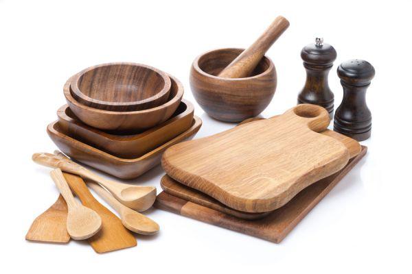 Cómo cuidar los cubiertos de madera