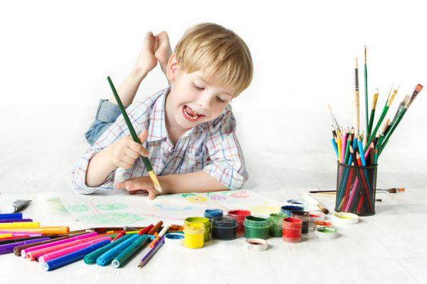 Cómo iniciar a los niños en el arte