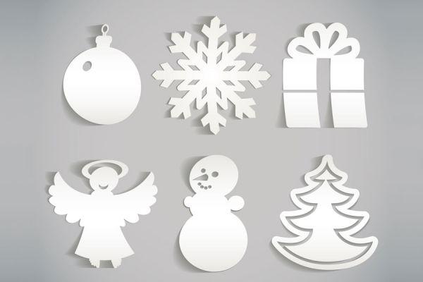 Adornos de papel para el rbol de navidad - Hacer adornos arbol navidad ...