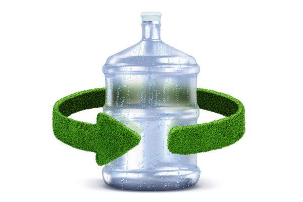 Cómo reciclar los botellones de agua