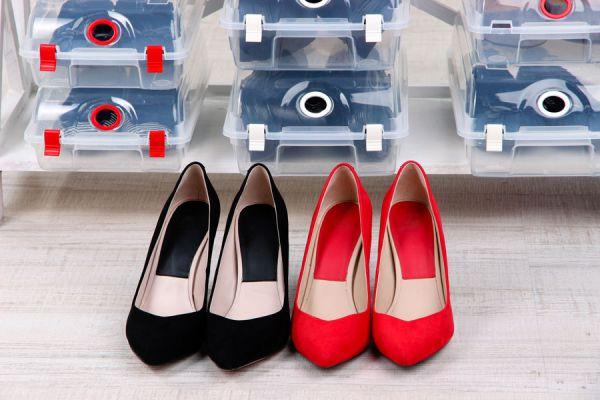 Cómo guardar el calzado de verano durante el invierno