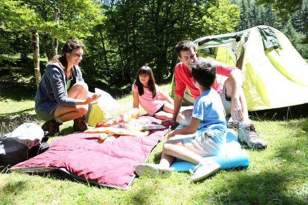 Cómo elegir el lugar donde acampar