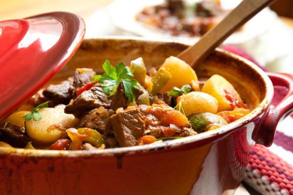 Cocción de carne a la olla o en su jugo