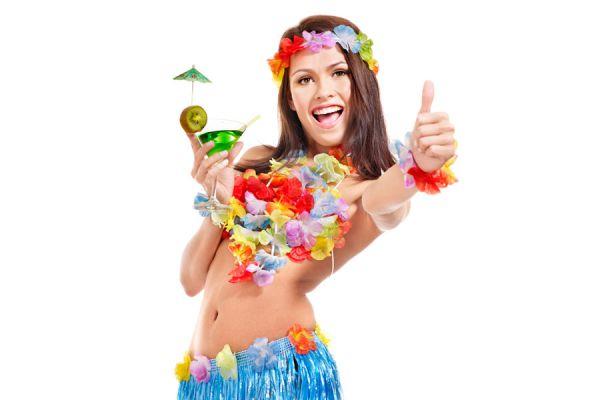 Ideas para decorar una fiesta de temática hawaiana. Tips para la decoración de fiestas hawaianas.