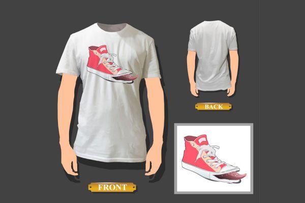 Pasos para estampar remeras en casa. Método simple para estampar una remera o camiseta con el diseño que quieras. Estampado con papel transfer