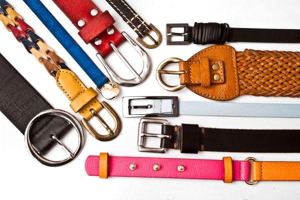 Cómo guardar cinturones