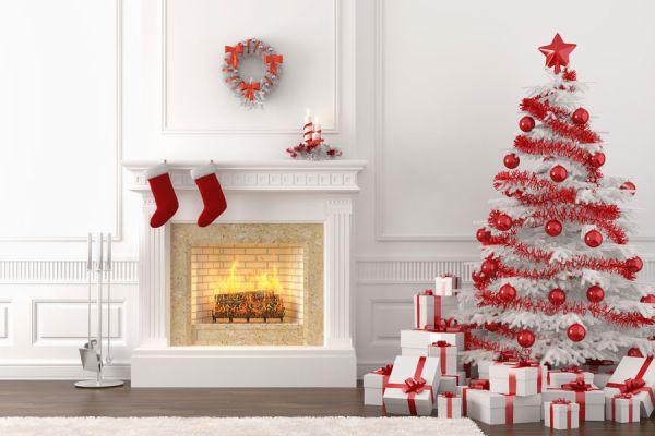 Cómo decorar el pinito al estilo Blanca Navidad.