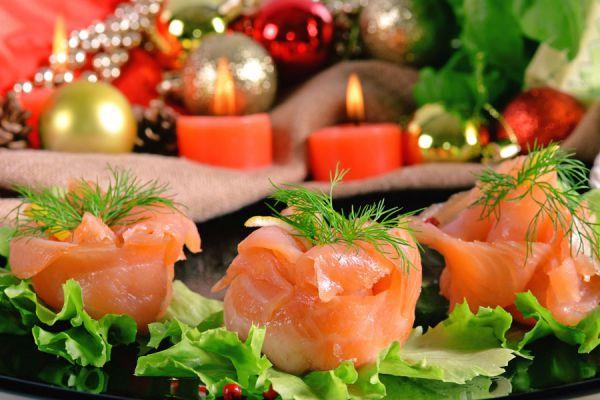 Cómo hacer canapés para Navidad