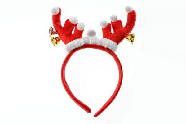 Cómo hacer vinchas para entretener a los niños en Navidad