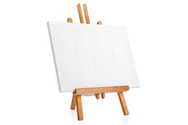 C mo preparar un lienzo - Como enmarcar un lienzo ...