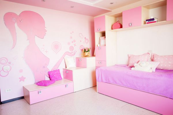 C mo decorar las paredes de un cuarto de ni os for Como decorar un cuarto infantil