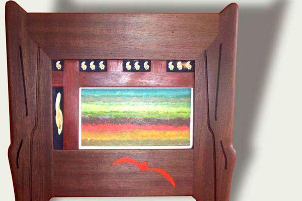 Cómo hacer decoraciones con viejos marcos de madera