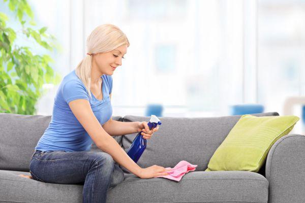 C mo limpiar tapizados y muebles de tela - Productos para limpiar muebles ...