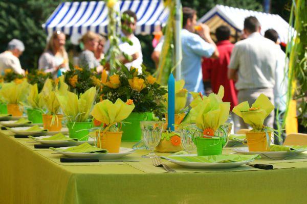 Guía para la planificación de una fiesta en el jardín. Cómo llevar a cabo un evento al aire libre. Tips para organizar una fiesta en el jardín de casa