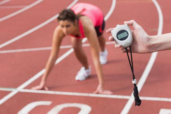 Test pista atletismo