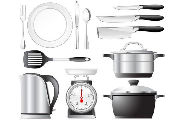C mo equipar la cocina con utensilios b sicos for Utensilios de chef