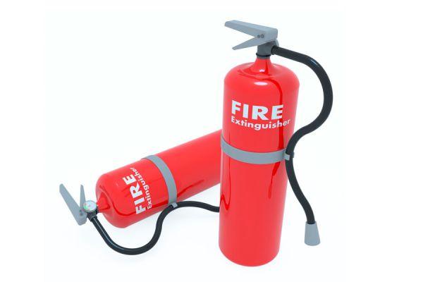 Tipos de extintores de incendio