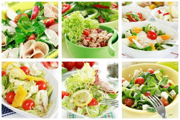 Diferentes tipos de vegetarianos