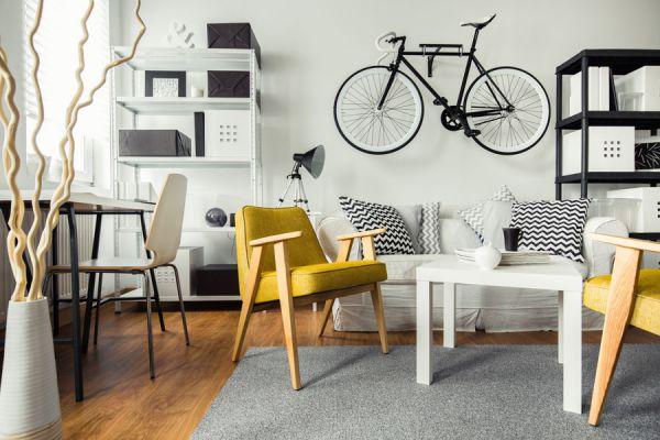 Cómo hacer un soporte para bicicleta