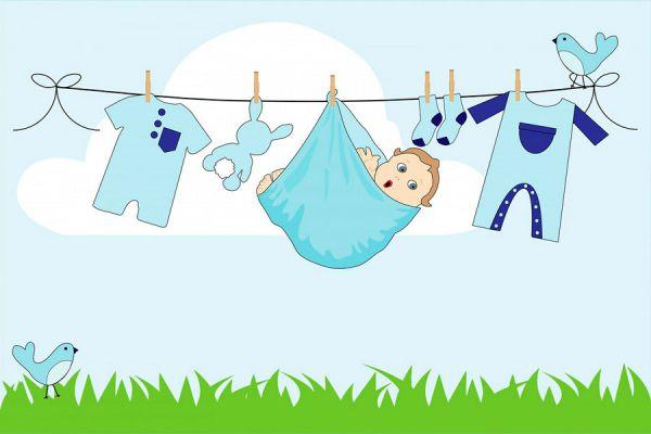 Consejos para cuidar la ropa del recién nacido. Cómo lavar y secar ropa para un recién nacido. Tips para cuidar la ropa del un bebé recién nacido