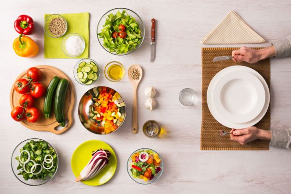 3 recetas light para la cena
