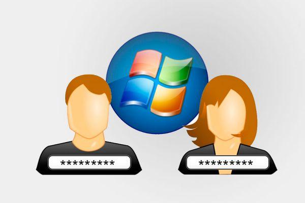 Cómo crear contraseñas para un usuario de Windows